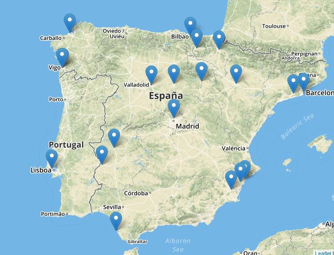 Mapas Interactivos Sin Usar Google Maps Estudio Nexos Valladolid